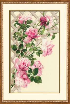 Плетение роз