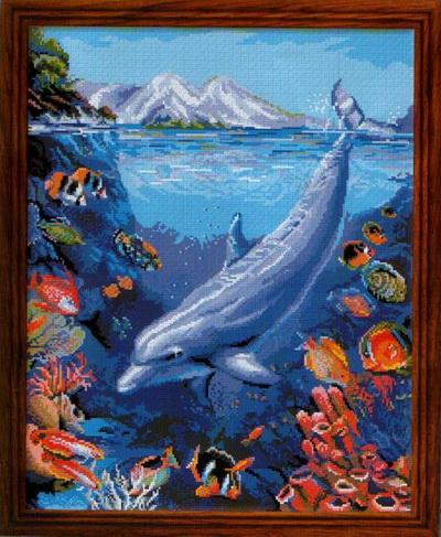 бесплатные схемы дельфинов для